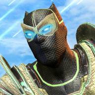 超级英雄黑豹机器人