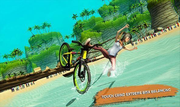 自行车水上平衡赛截图2