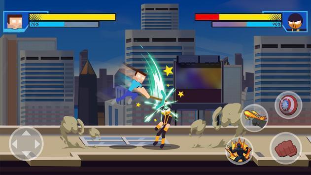 超级英雄打击战斗截图1
