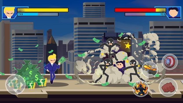 超级英雄打击战斗截图2