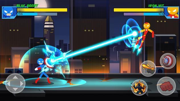 超级英雄打击战斗截图3