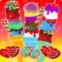 儿童冰淇淋餐厅游戏