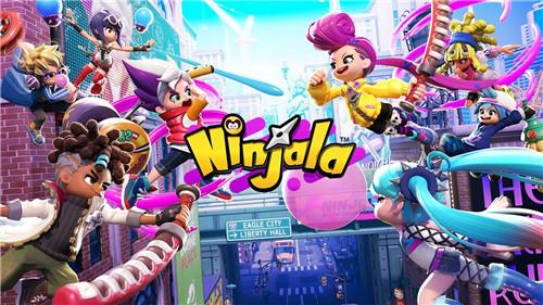 Switch平台免费动作游戏Ninjala下载量突破400万