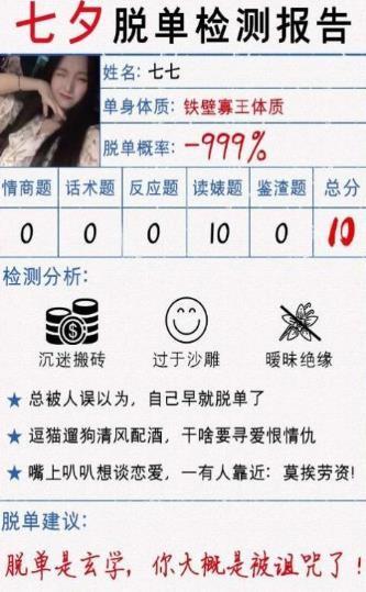 七夕脱单考试截图1