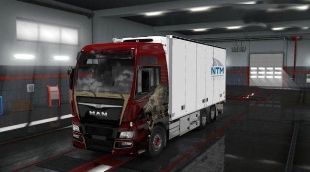 歐洲貨車模擬器截圖1