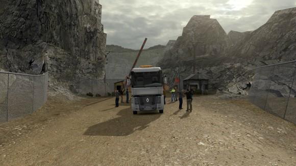 重卡山路模拟驾驶游戏拉木条截图1