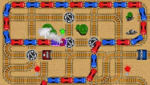 火车迷宫游戏截图3