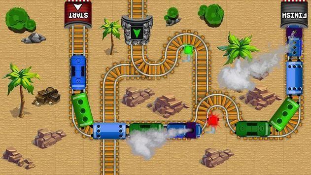 火车迷宫游戏截图1