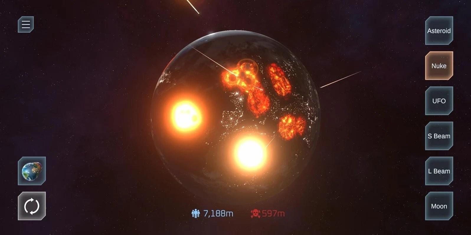 星球爆炸模拟器2021截图3