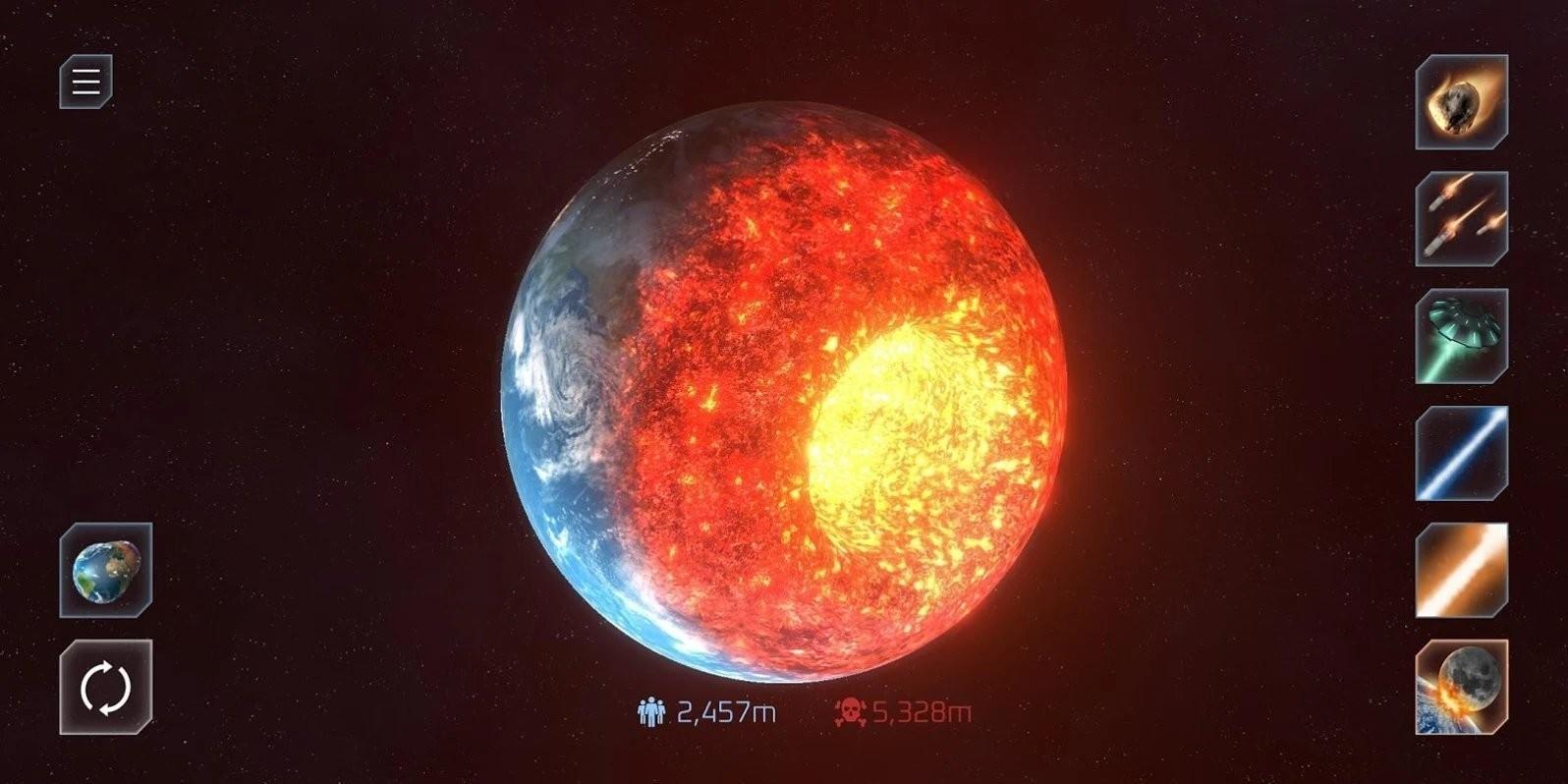 星球爆炸模拟器2021截图1