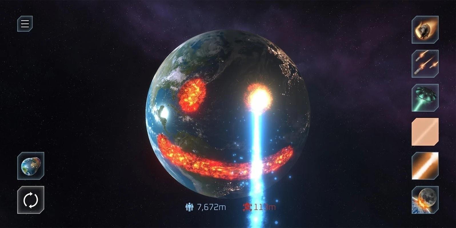 星球爆炸模拟器2021截图2