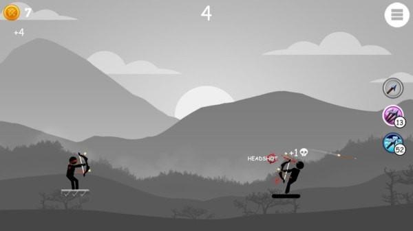 火柴人爱弓箭手截图2