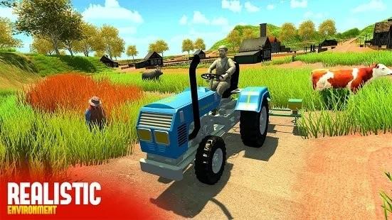农民拖拉机模拟器截图3