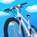 山坡自行车