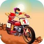 摩托车爬山比赛