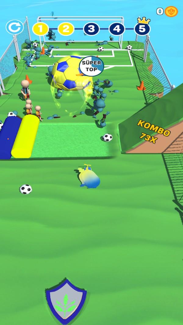 疯狂小鸡足球截图2