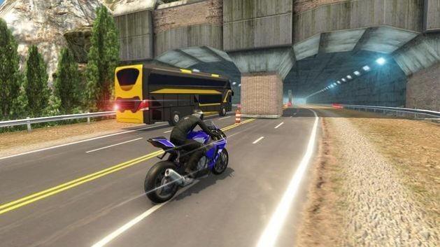 高速巴士vs摩托车游戏截图2
