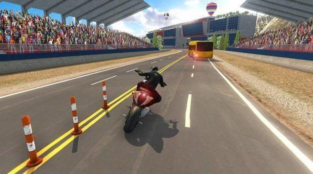 高速巴士vs摩托车游戏截图1