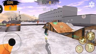 滑板模拟器截图1