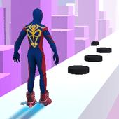 超级英雄旱冰鞋