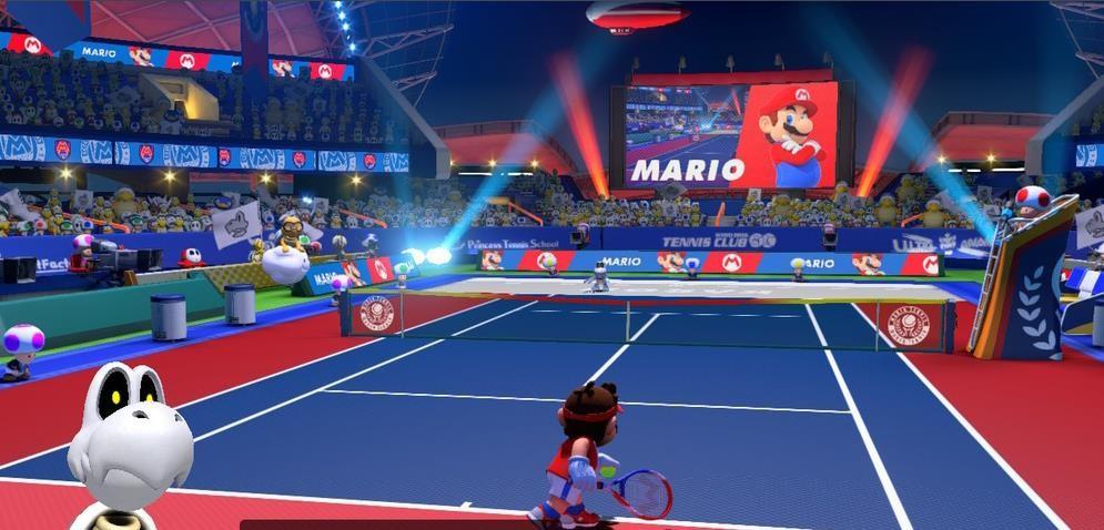 马力欧网球王牌截图1