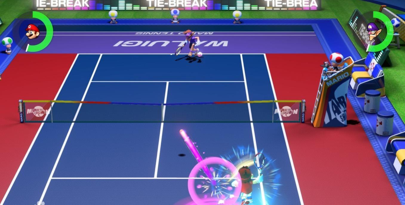 马力欧网球王牌截图2