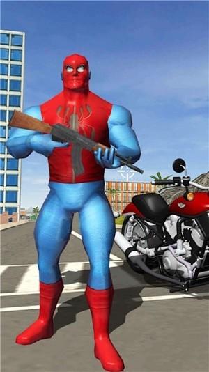 赛博朋克蜘蛛侠截图1