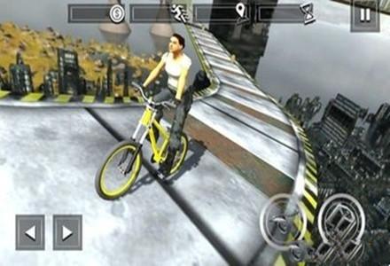 驾驶自行车