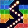 砖球霓虹灯爆炸游戏