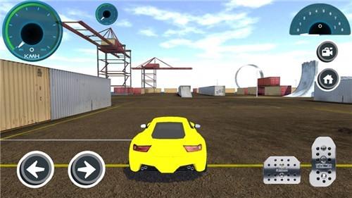 2021汽车模拟器3D截图1