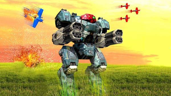 机器人机甲战场截图1