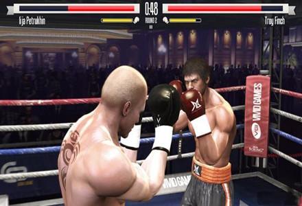 模拟拳击比赛