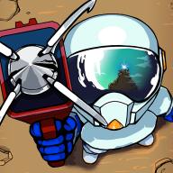 太空冒险奔跑