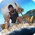 木筏生存海上建造