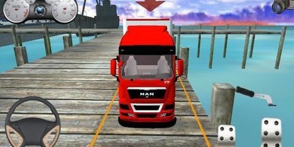 挂车模拟驾驶截图1