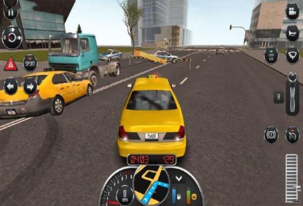 模拟出租车的游戏