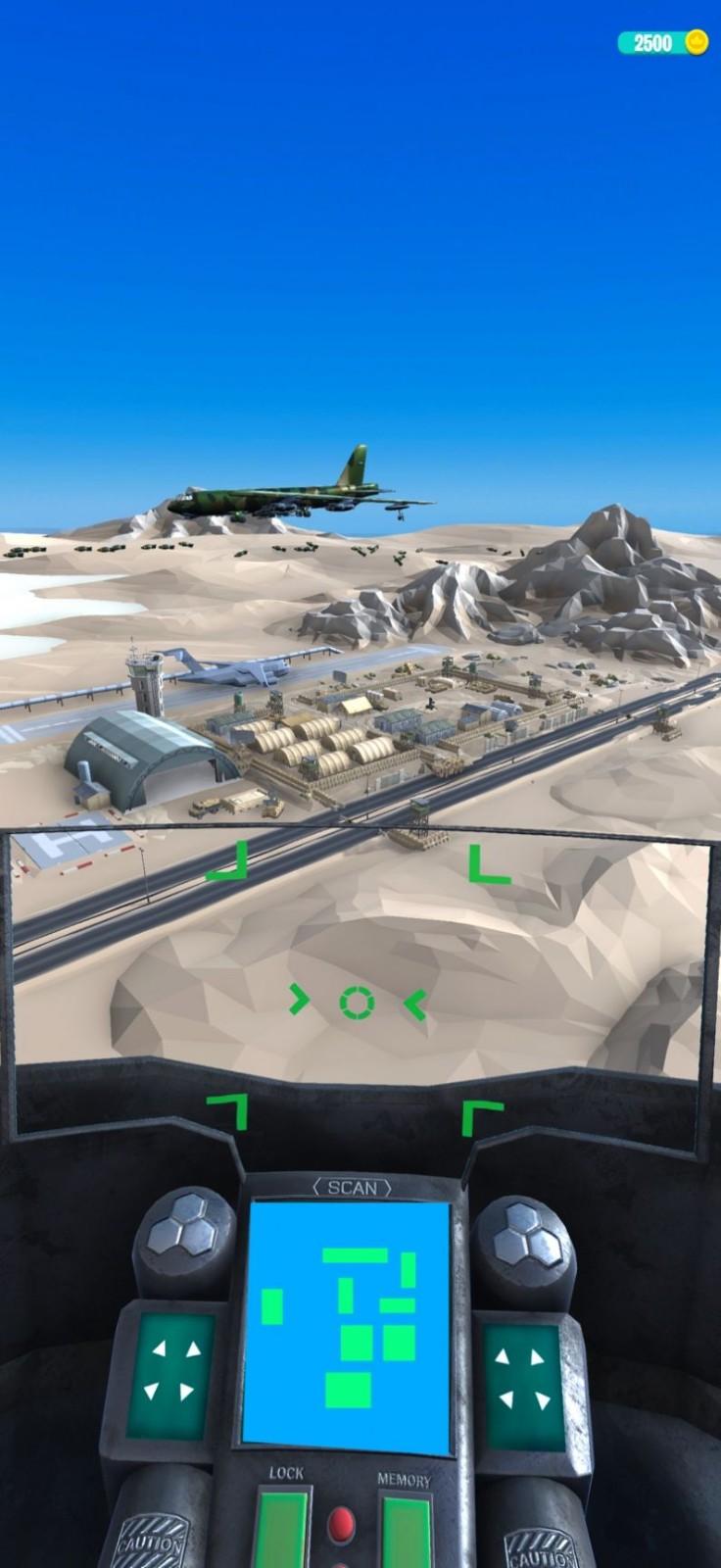 间谍战斗机3D截图1