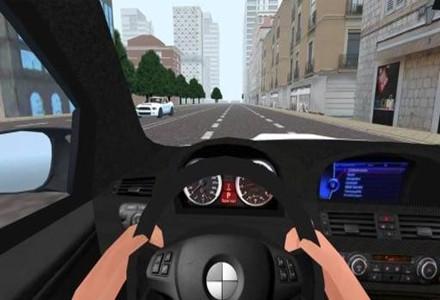 模拟驾驶汽车