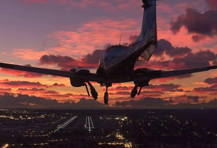 模拟真实飞行
