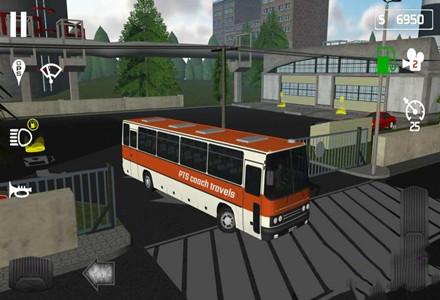 模拟驾驶客车