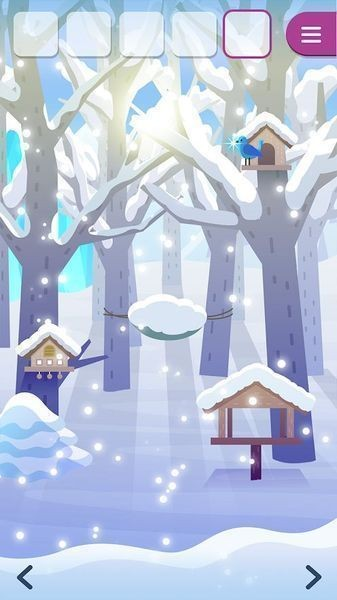 动物们与下雪的岛截图4