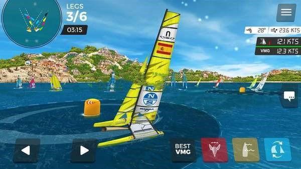 海上虚拟帆船赛截图3