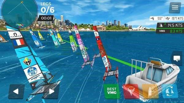海上虚拟帆船赛截图1