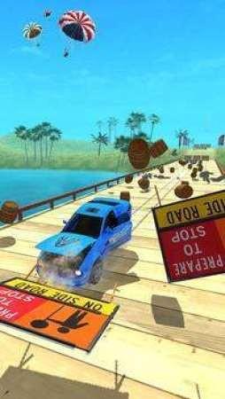 斜坡撞车跳截图2