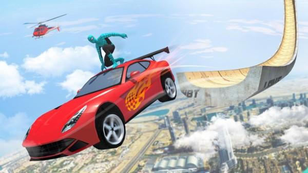 超级英雄超级坡道截图4