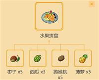 小森生活水果拼盘制作教学