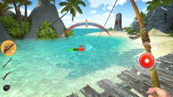岛屿生存:钓鱼模拟截图3