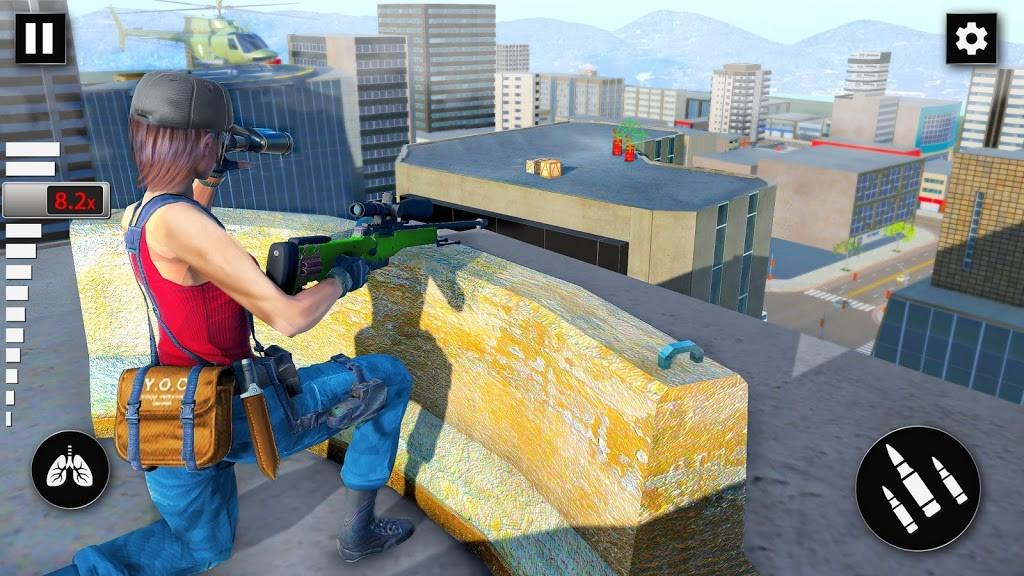 狙击手离线射击截图2