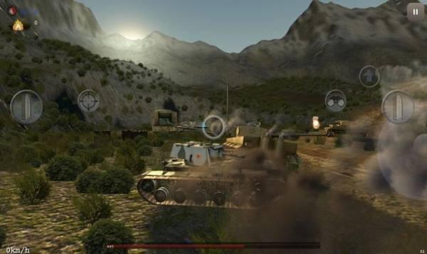 坦克突袭模拟器截图2