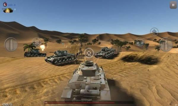 坦克突袭模拟器截图3